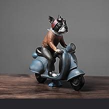 Hars Ambachten Decoratie Persoonlijkheid Pet Puppy Opbergdoos Motorfiets Hond Hars Decoratie