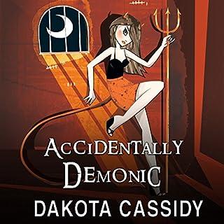 Accidentally Demonic audiobook cover art