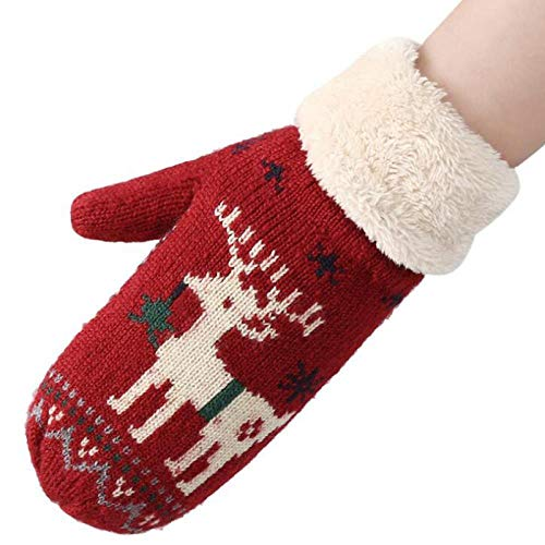 Dames 1Double Thicker Plus Cashmere Mittens Dames winter warme volle vingers zachte schattige handschoenen 20 in dameshandschoenen