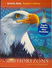 Harcourt Horizons: United States History, Activity Book, Teacher's Edition 1st edition by HARCOURT SCHOOL PUBLISHERS (2003) Paperback