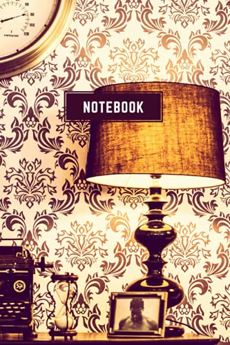NOTEBOOK: NOTEBOOK: Vintage Style Desk - Size ( 6 x 9 inches) 100 Pages, Wide Ruled Paper | Notebook Journal | Writing & Office Paper, Perfect for College