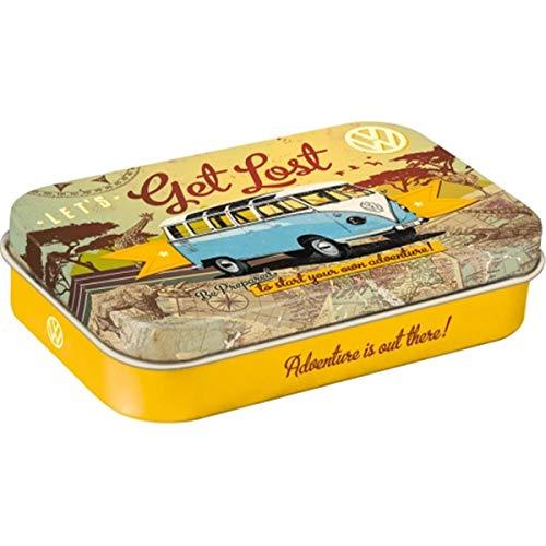 Nostalgic-Art VW Bulli - Let's Get Lost, Pillendose XL, 1er Pack (1 x 40 g)