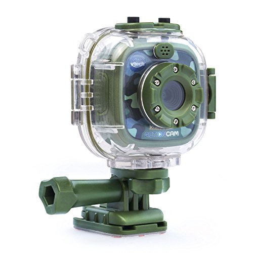 Product Image of the VTech Kidizoom Action Cam Amazon Exclusive, Camouflage