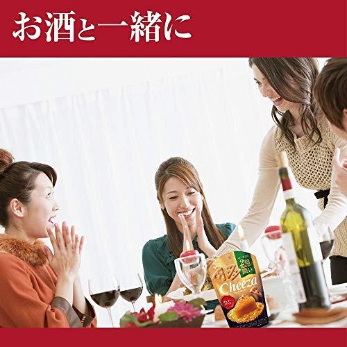 江崎グリコ(glico)『生チーズのチーザCheeza薫製チーズ味』
