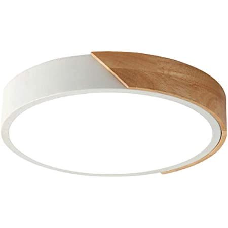 Plafonnier LED rond à gradation trichromatique,White,12 inch