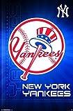 MLB New York Yankees, Team Logo, 22' x 34', Wall Poster