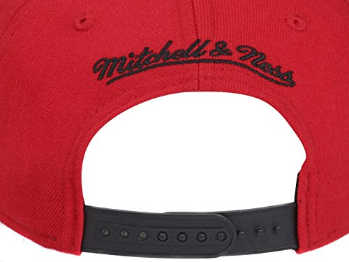 Mitchell & Ness - Casquette Snapback Homme Chicago Bulls XL Logo Snap