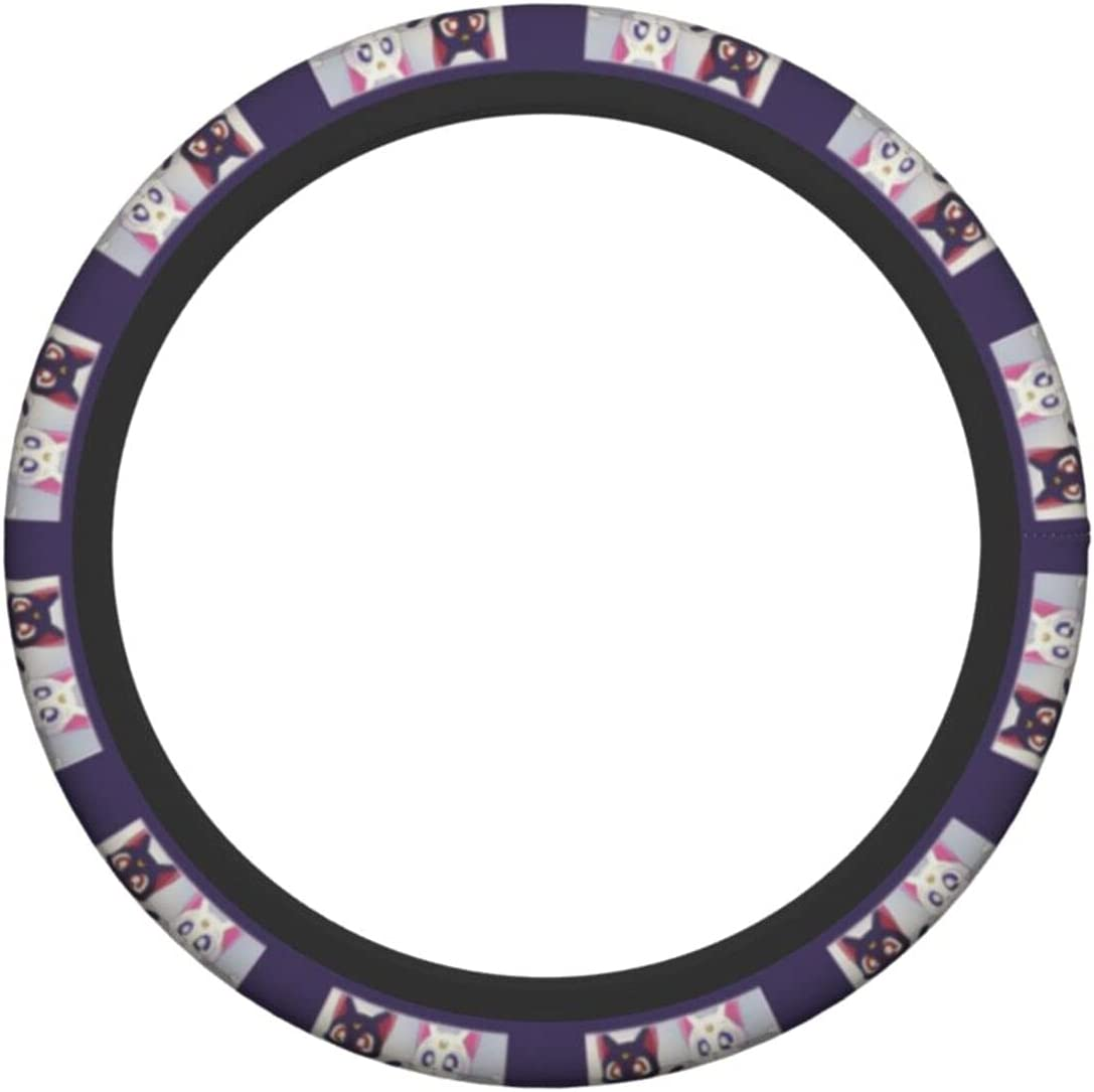 Universal Many popular brands Car Steering Wheel Cover Moon Accessories Sailor L Tampa Mall