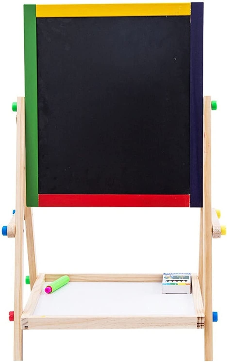 LICHUAN Board Solid Luxury goods Wood Kids Double Easel Room Sided New arrival Toy
