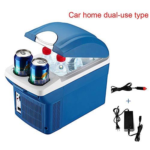 Mini Refrigerador De 8 litros, Refrigeración Y Calefacción Portátil, Refrigerador, Congelador, Incubadora, Doble Propósito, Coche, Oficina En Casa, Picnic Al Aire Libre