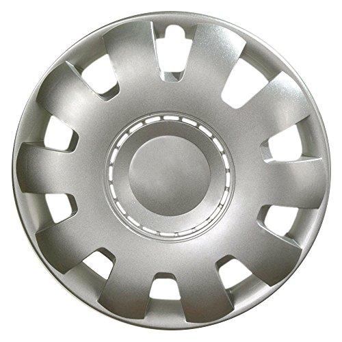CM DESIGN wieldoppen 16 inch Venus Nylon LUX zilver