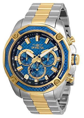 Invicta Men's 30757 Aviator Quartz Multifunction Blue Dial Watch