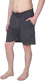 Men's Jersey Knit Pajama Shorts Lounge Shorts Available in Plus Size