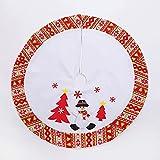 ZLSP Falda de árbol de Navidad, árboles de Navidad Decoraciones...