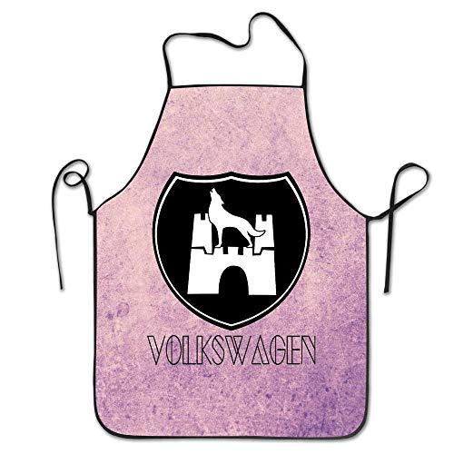 dfhfdshfdshsd dfhfd GrillschürzenSchürzenbevoicep Wolfsburg Kitchen Apron for Women Funny Apron Dress Men Cooking Apron Pinafore Women's Fashion