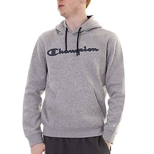 Champion 213485 Hooded Full Zip Sweatshirt RS505 TRD/NBK, OXGM-NNY (213424-EM006), L