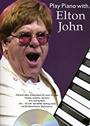 Partition : John Elton Play Piano With + Cd