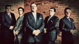 43inch x 24inch/107cm x 60cm The Sopranos Season 1 Silk Poster Christmas Gift For Family Best Gift For Children