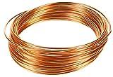 Mumbi 31441 - Alambre para manualidades (10 m, 2 mm), color cobre