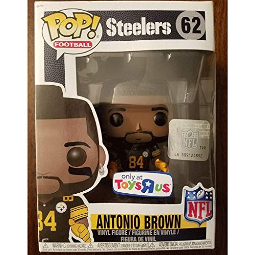 Good Buy Funko Pop Football : Antonio Brown (Only at Toysrus) 3.75inch Vinyl Gift for NFL Fans Figure