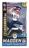 McFarlane Toys NFL New England Patriots E A Sports Madden 19 Ultimate Team Series 2 Rob Gronkowski Exclusive Action Figure