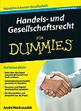 Handels- und Gesellschaftsrecht für Dummies - André Niedostadek