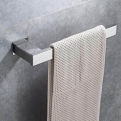SWNN Estantes de baño Toallero Barra Fresco Contemporáneo Acero Inoxidable / Hierro 1pc 1 Toallero Barra Colgante de Pared