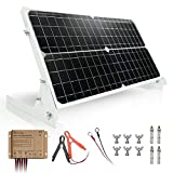 TP-solar 30W 12V Solar Panel kit Battery Charger Maintainer + 10A Waterproof Solar Charge Controller + Adjustable Mount Tilt Rack...