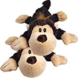 KONG Spunky Monkey Cozie Dog Toy, Small (2 Pack)