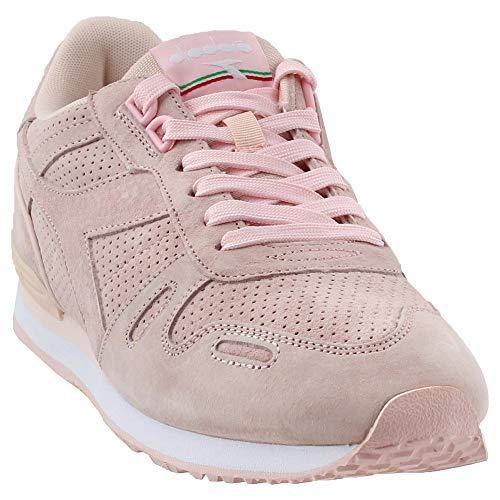 Diadora Womens Titan Premier Sneakers Shoes Casual - Pink - Size 6 B