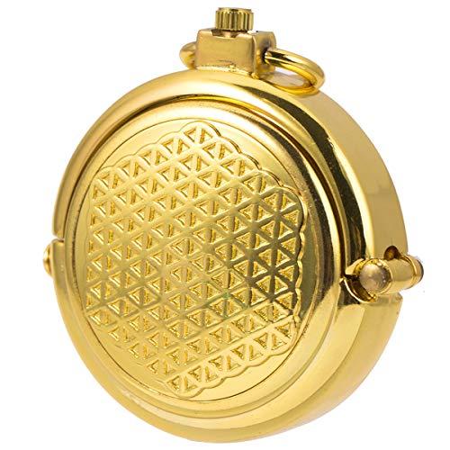 懐中時計 手巻き 機械式 メンズ 懐中時計 紳士 レトロ 蓋付き ゴールド ローマ数字