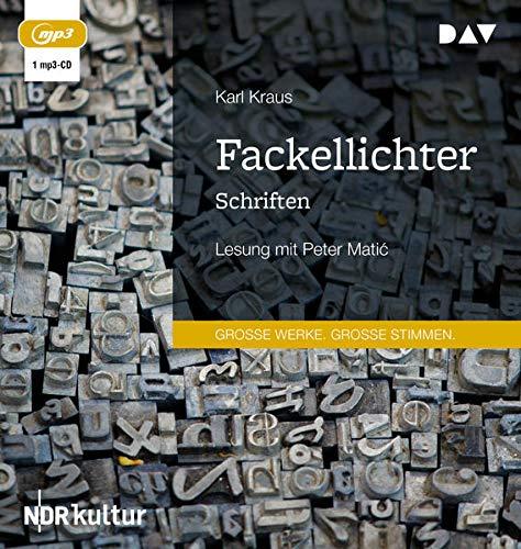 Fackellichter. Schriften: Lesung mit Peter Matić (1 mp3-CD): Lesung mit Peter Matic (1 mp3-CD)