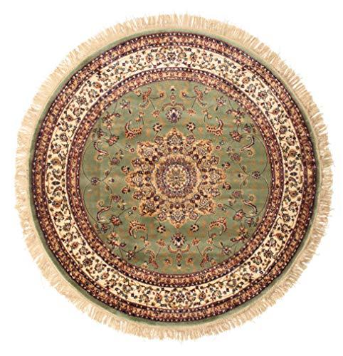 RugVista Nahal - grün Teppich Ø 150 Orientalischer, Rund Teppich