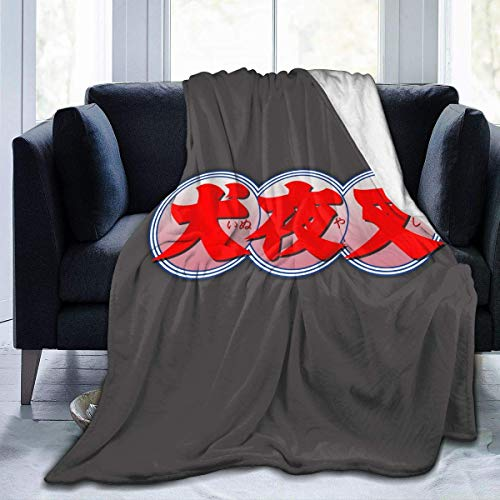 Fleecedecke Inuyasha und Kagome Kuschelige Bettwäsche Mikrofaser Leichte Superweiche Sofa Warme Yogamatten Decken Werfen Größe 50x40 60x50 80x60 Zoll