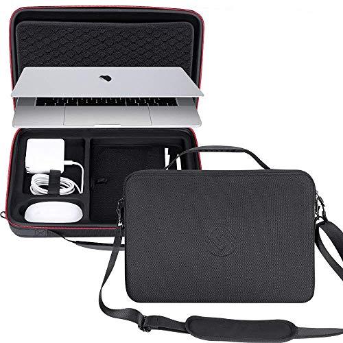 Smatree Sacoche Ordinateur Portable pour MacBook Pro 15 Pouces 2019/2018/2017, Surface Laptop 2