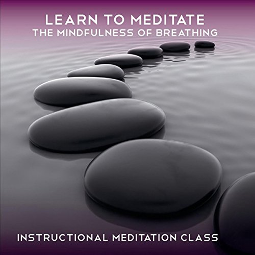 Learn to Meditate - The Mindfulness of Breathing audiobook cover art