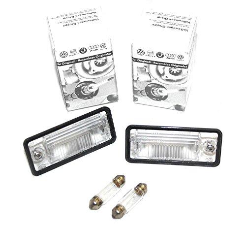 8E0943021B 8E0943022B Kennzeichenleuchten Set Original Kennzeichenbeleuchtung (inkl. 2x Glühlampe)