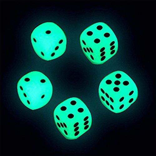 Hollazilla『暗闇で光るサイコロ6個セット』