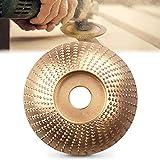 Muela Abrasivos, Discos para Amoladoras Angulares de Carburo de Tungsteno 100mm/85mm,Lijado Rápido y Robusto de Madera