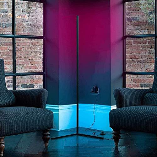 JZLPY RGB & 300+ Dimmable Farbwechselbeleuchtung, Ecklicht LED Dimmable, mit Fernbedienung für Wohnzimmer Schlafzimmer Nacht Kinderzimmerbeleuchtung 55.11