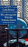 Die schweigende Welt des Nicholas Quinn: Kriminalroman. Ein Fall für Inspector Morse 3 (Unionsverlag Taschenbücher) (metro)