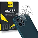 TQLGY [3 Pack] Camera Lens Screen Protector Compatible with iPhone 12 Pro Max 5G 6.7 inch, HD Clear Camera Tempered Glass Protector [Ultra-Thin] [Anti-Scratch] [Easy Install]