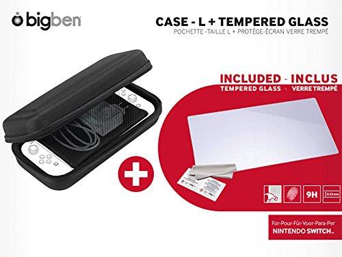 BigBen Interactive SWITCHPACK5 Nintendo Switchset, gehard glas, antistatische doek