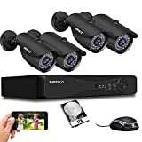 Best Surveillance Systems - [Upgrade 5MP] SANSCO HD CCTV Camera System, 4 Review
