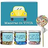 SMARTY BOX SMARTY BOX Regalo Caja original de Caramelos y Gominolas, con frases...