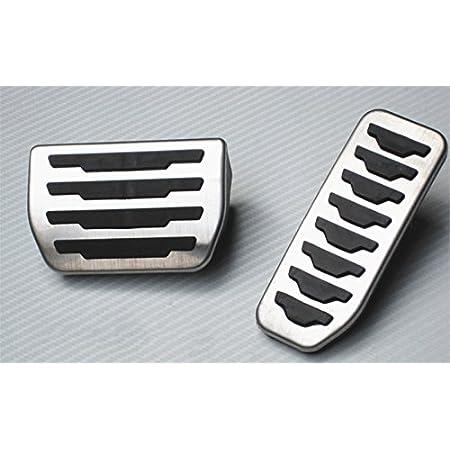Für Evoque Discovery Sport Auto Bremse Gaspedal Pedalabdeckung Pedalkappe Pedalset Aluminiumlegierung Ppe Gleitschutz At Zwei Auto