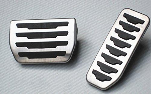 Per evoque Discovery Sport AT Coperchio di protezione del pedales Acceleratore freno dell'File automobile pedale 2 pezzi