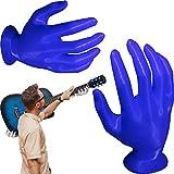 Soporte Para Montaje En Guitarra De Mano En 3d, Soporte Para Guitarra Pared Soporte Guitarra Forma De Mano Soporte Para Auriculares Soporte Resistente Para Guitarras AcúSticas Y EléCtricas Azul