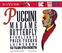 Puccini: Madame Butterfly - Highlights (RCA Basic 100, Vol. 64) by Erich Leinsdorf