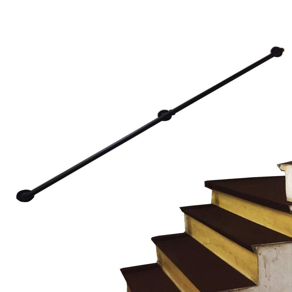 LHF Al aire libre cubierta universal de escalera Barandilla, escalera Baranda, Inicio Loft contra la Baranda ancianos de deslizamiento no son de seguridad asidero barra mural de la escalera - Longitu: Amazon.es: